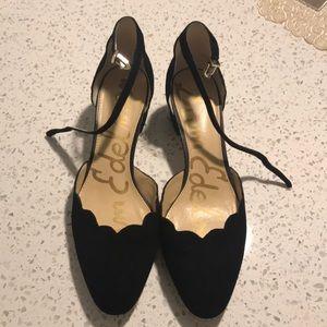 Sam Edelman Ankle Strap Block Heel Size 9